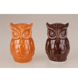 Transpac Owls Salt & Pepper Set