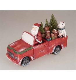 Transpac Christmas Car Decor