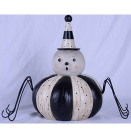 Transpac Spider Pumpkin Decor