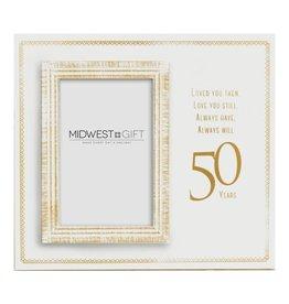 UMA ENTERPRISES INC. LOVED YOU 50 YEARS Frame (4x6)
