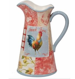 Certified International Corp Farm House Rooster Pitcher
