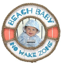 Malden Beach Baby No Wake Zone Frame