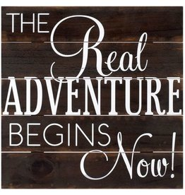 Malden Real Adventure 12x12 Sign