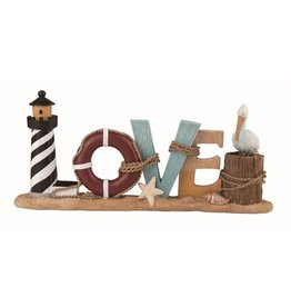 Transpac Coastal LOVE Decor