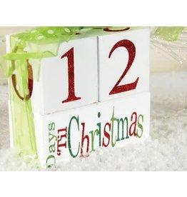 ADAMS & CO. Christmas Countdown Block Set