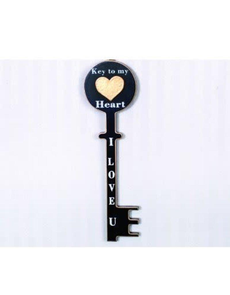ADAMS & CO. LOVE Wood Key