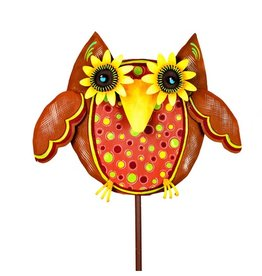 Round Top Collection Whimsical Owl with Dots
