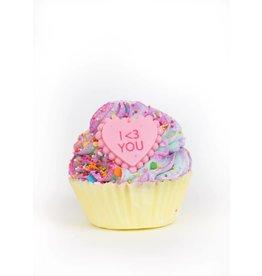 Feeling Smitten Large SWEET HEART Cupcake Bomb