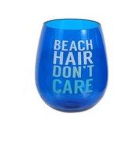 DENNIS EAST INTERNATIONAL INC BEACH HAIR - Stemless Wine Glass