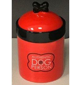 DOG BONE TREAT JAR