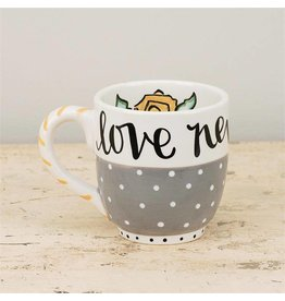 Love Never Fails Jumbo Mug