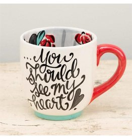 Hands Full Heart Full Jumbo Mug