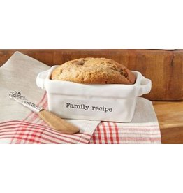 Mud Pie Family Recipe Mini loaf Pan Set