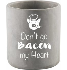 Home Essentials DON'T GO BACON MY HEART Utensil Crock