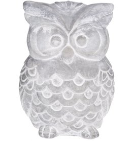Home Essentials Cement Owl