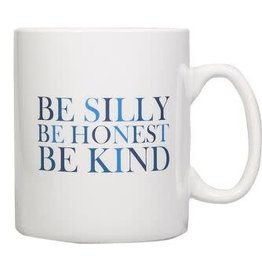 "Home Essentials Sentiment Jumbo Mug- ""Be Silly"""