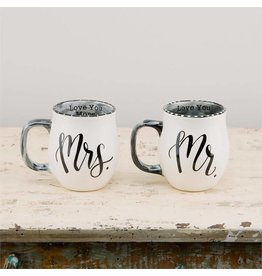 Stolen Heart Mr & Mrs  Mug Set
