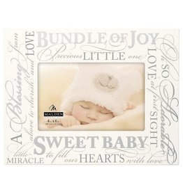 Malden Sweet Baby Quote Frame