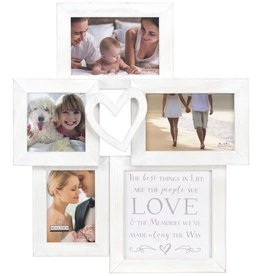 Malden 4-OP Heart Collage with Sentiment Quote