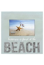 Malden 4x6 BEACH Galvanized Letter Frame