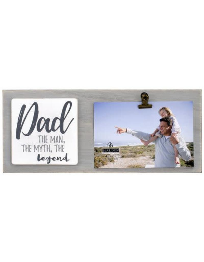 Malden 4x6 Dad Clip Frame