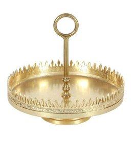 UMA ENTERPRISES INC. Alum Gold Tray Stand