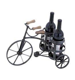 UMA ENTERPRISES INC. Metal Bicycle Wine  Bottle Holder