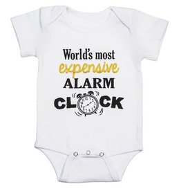 Most Expensive Alarm Clock (0-6 months)