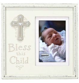 Malden Bless This Child Wooden Frame