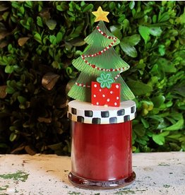 Round Top Collection Christmas Morning Candle