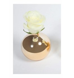 8 Oak Lane Ceramic Gold Mini-vase