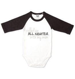Pavilion All Nighter 6-12 Months Sleeve Onesie
