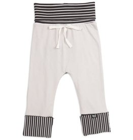 Pavilion Black Stripe 6-24 Months As You Grow Pants