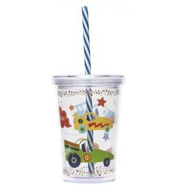 C R Gibson Zoom Zoom Insulated Tumbler