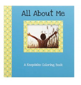 C R Gibson All about Me Coloring Book