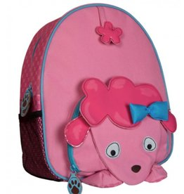 C R Gibson Poodle Backpack