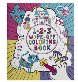 C R Gibson Wipe Off Coloring Book