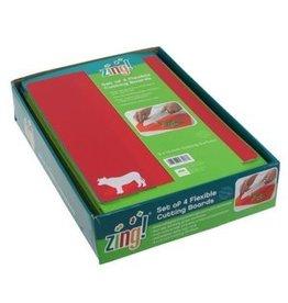 Zing Set of 4 Flexible Cutting Boards