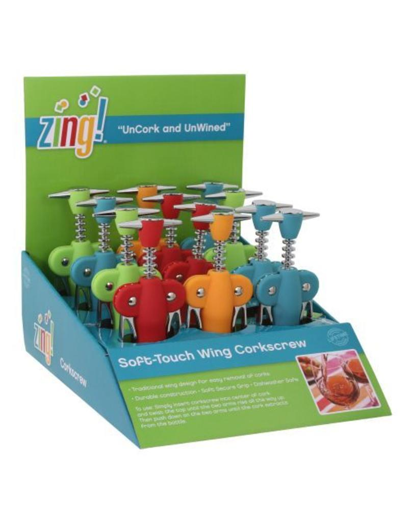 Zing Soft-Touch Wing Corkscrew