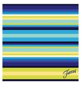 Thirstystone Cool Stripe/Cobalt 4 pc Coaster Set