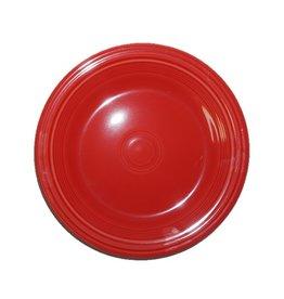 """Dinner Plate 10 1/2"""" Scarlet"""