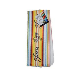 Fiesta® Stripe Kitchen Towel Sunflower
