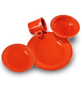 4 Piece Place Setting Poppy