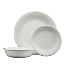 The Homer Laughlin China Company 3 PC Classic Set White