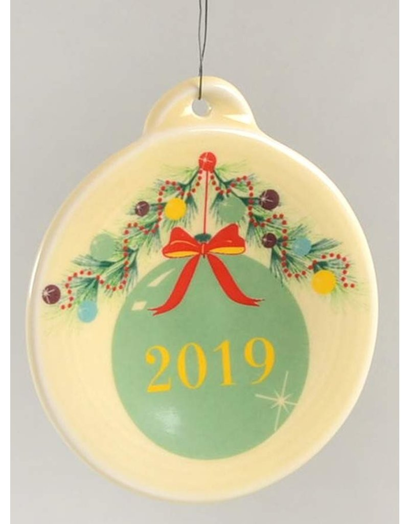The Homer Laughlin China Company Chistmas Ornament 2019