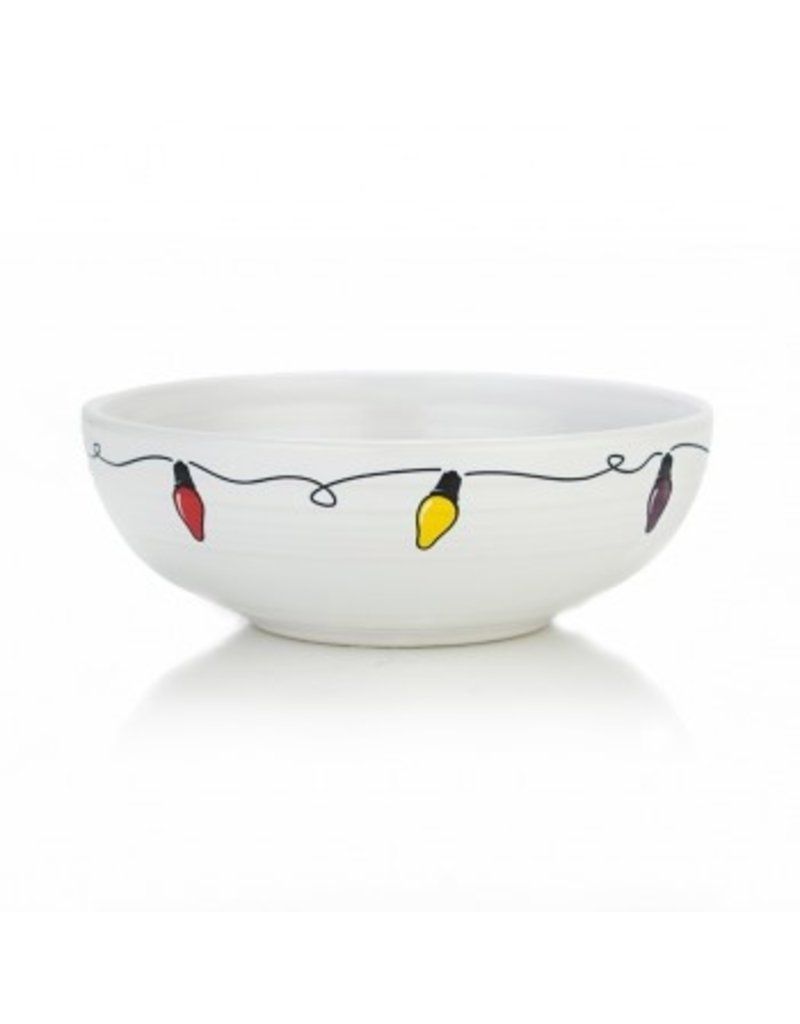 The Homer Laughlin China Company Bistro Bowl Medium Fiesta Lights