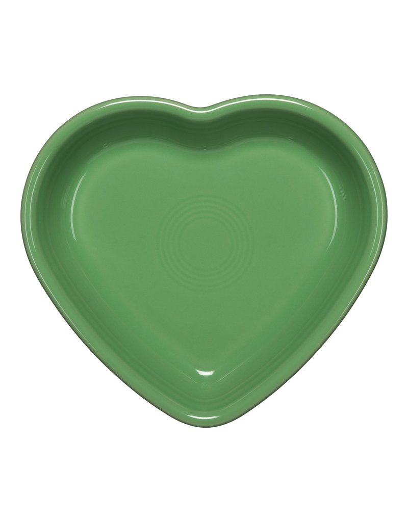 The Homer Laughlin China Company Medium Heart Bowl Meadow