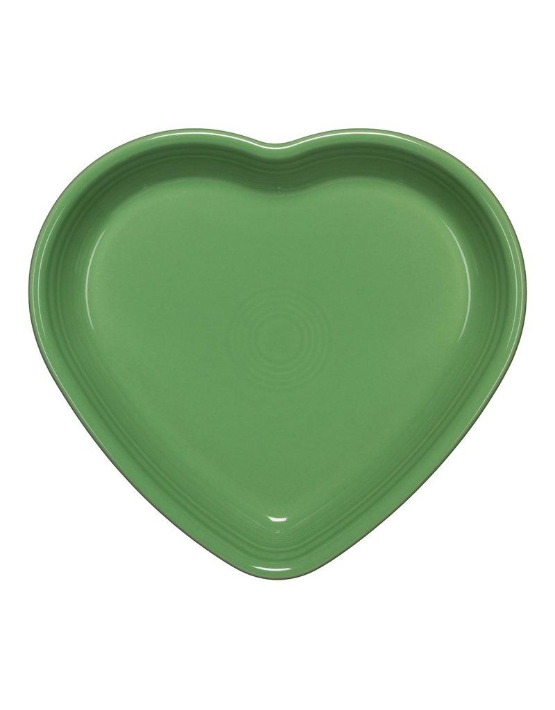 The Homer Laughlin China Company Large Heart Bowl 26 oz Meadow