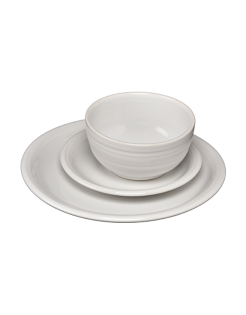 The Homer Laughlin China Company 3 pc Bistro Place Setting White
