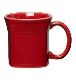 The Homer Laughlin China Company Square Mug 13 oz Scarlet